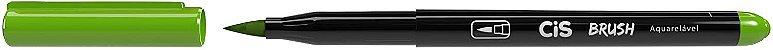 Kit Canetas Brush Pen - Aquarelável - 6 Cores Básicas - Cis  - Imagem 3