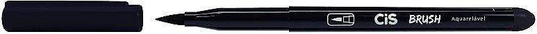 Kit Canetas Brush Pen - Aquarelável - 6 Cores Básicas - Cis  - Imagem 2
