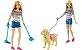 Boneca Barbie - Passeio com o Cachorro - Mattel  - Imagem 2