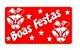 Etiquetas adesivas Decorativas Boas Festas  c/ 100 Un - Eticol - Imagem 1