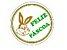 Etiquetas adesivas Decorativas Feliz Páscoa c/ 100 Un - Eticol - Imagem 1