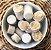 Paçoca coberta com chocolate branco com 50 unidades (Pote 1,01Kg) - Kikakau - Imagem 2