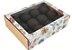 Caixa gaveta Doce jardim para 12 doces (cód. 2466) c/ 10 un - Ideia - Imagem 1