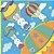 Envelope para ovo Balão Mágico (32x32cm) com 25 unidades - Cromus - Imagem 1