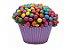 Forma Cup Cake Lilás Claro N°0A com 100 unidades - Reiki - Imagem 2