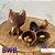 Forma Especial De Silicone Raposa 3D - BWB - Imagem 3