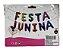 Kit Balão festa junina com 11 letras e fitilho  - Imagem 1