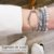 Bracelete Sintra Ródio Branco Escovado - Imagem 2