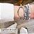 Bracelete Naomy Ródio Branco - Imagem 2