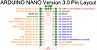 Arduino Nano v3 sem cabo e soldas. - Imagem 3