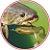 ISCA ARTIFICIAL SOFT MONSTER 3X PADDLE FROG CANDY PUMPKIN 2UN - Imagem 3
