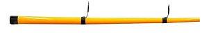VARA 2 PARTES CARRETILHA ALBATROZ TOPAZ 602 1,80M 6-12LB COLOR EDITION LARANJA  - Imagem 2