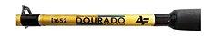 VARA 2 PARTES MOLINETE ALBATROZ DOURADO 1652 1,65M 30-50LB - Imagem 3