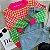 Blusa de Tricot Pied de Poule Colorida - Imagem 1