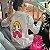 Chamise Margarida Camisa Social Branca com Desenho - Imagem 1