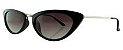Óculos Solar Feminino 18033 Preto - Imagem 1