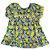 VESTIDO - KIT 3 Peças (Vestido + Calcinha + Faixa de cabeça) Limão - Imagem 1