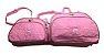 Kit de Bolsa Urso com Balão Rosa - Imagem 1