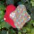 Absorvente de tecido reutilizável - Estampa Pétala - Imagem 1
