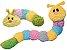 "Patchwork Pet Pastel Caterpillar 20 "" - Imagem 3"