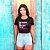 "Camiseta Cropped Feminina Frases De Carnaval ""Me chama de catuaba"" - Imagem 1"