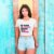 "Camiseta Cropped Feminina Frases De Carnaval ""Me chama de catuaba"" - Imagem 2"