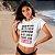 """Camiseta Cropped Feminina Frases De Carnaval """"Quem Não Beijou Pode Vir"""" - Imagem 2"""