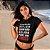 """Camiseta Cropped Feminina Frases De Carnaval """"Quem Não Beijou Pode Vir"""" - Imagem 1"""
