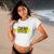 "Camiseta Cropped Feminina Frases De Carnaval ""Credo Que Delicia"" - Imagem 2"