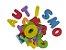 Letras e Números em EVA - Imagem 1