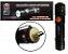 Mini Lanterna Tática Recarregável Com Zoom Usb - Imagem 1