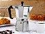 Cafeteira Italiana Alumínio 6 Doses - Imagem 2