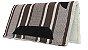 Manta Americana de algodão Marrom 05 - Imagem 1