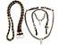 Kit trançado 4 pç Rédea lã, peitoral pp, cabeçada pp,biqueira couro e ferragens inox - Imagem 1