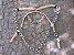 Conjunto Peitoral e Cabeçada Argolas Inox - Bege - Imagem 2