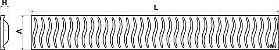 RALO LINEAR TIGRE 90CM GRELHA INOX - Imagem 7