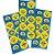 Adesivo Temático Minions Cartela C/30 Adesivos - Maricota Festas - Imagem 1