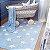 TAPETE INFANTIL 1,20 X 1,60M LORENA CANALS STARS AZUL/BRANCO - Imagem 1
