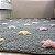 Tapete Infantil 120 x 160 Lorena Canals  Stars Colorido Cinza-Rosa - Imagem 1
