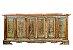 Balcão 3 Gavetas e 6 Portas de Madeira de Demolição - Imagem 4