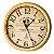 Relógio De Parede Antigo - 62cm Diâmetro - Parfumeur Paris - Imagem 1