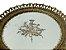 Bandeja Redonda com Vidro no fundo Decorado em Resina - Imagem 2