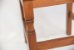 Cadeira Ripada com Pés Diamante em Vinhático - Imagem 4