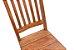 Cadeira Ripada com Pés Diamante em Vinhático - Imagem 3