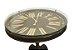 Mesa Lateral com Relógio de MDF e Vidro - Imagem 2