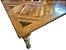 Mesa de Jantar Quadrada com Tampo Mosaico e Pés Torneados - Imagem 3