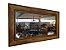 Espelho Retangular Grande em Madeira de Demolição - Imagem 1