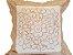 Capa de Almofada Bordada 100% Polyester - 5 Flores - Sem Enchimento - Imagem 2
