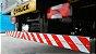 Faixa Refletiva para Parachoque Caminhão 2,4m x 10cm Denatran Avery Dennison - Imagem 2