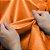 Lona Plástica 300 Micras Com Ilhoses - LARANJA - Imagem 1